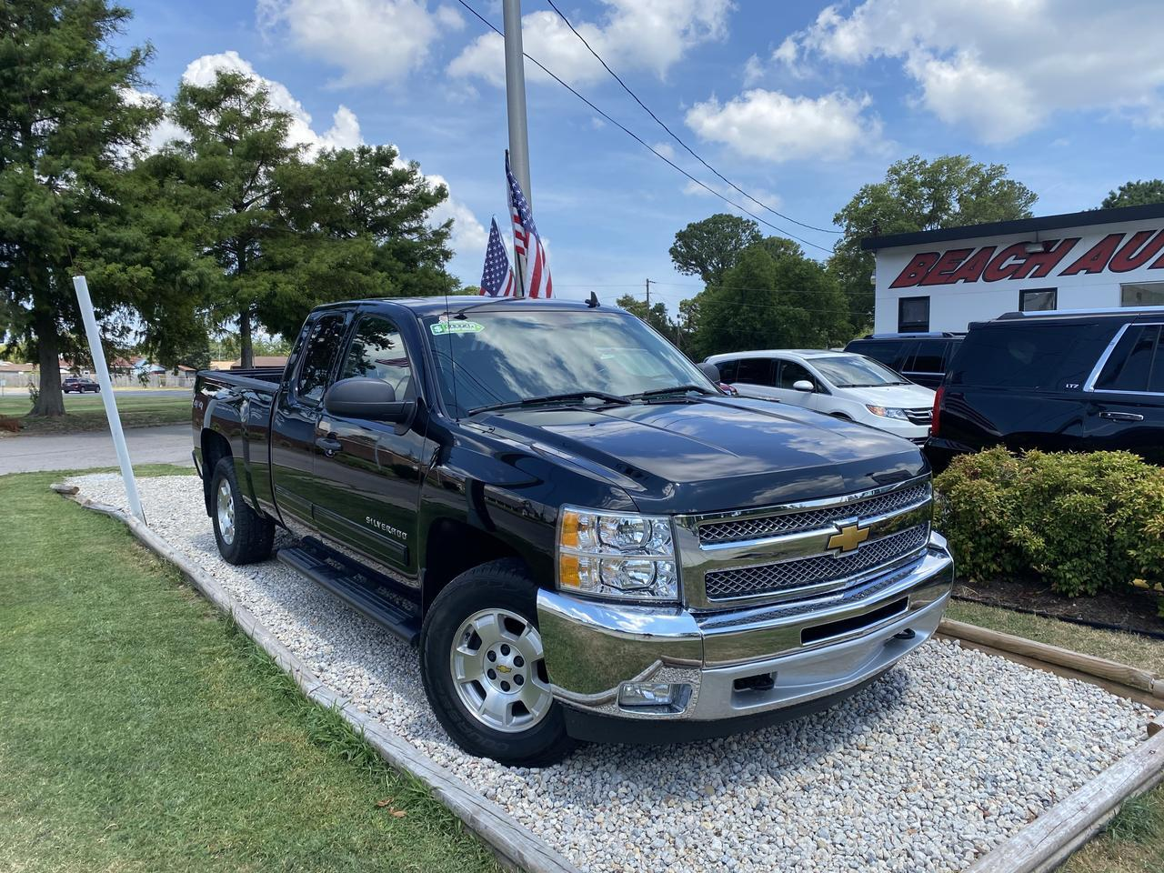 2013 CHEVROLET SILVERADO 1500 LT EXTENDED CAB 4X4, WARRANTY, TOW PKG, RUNNING BOARDS, AUX PORT, ONSTAR, CLEAN CARFAX!