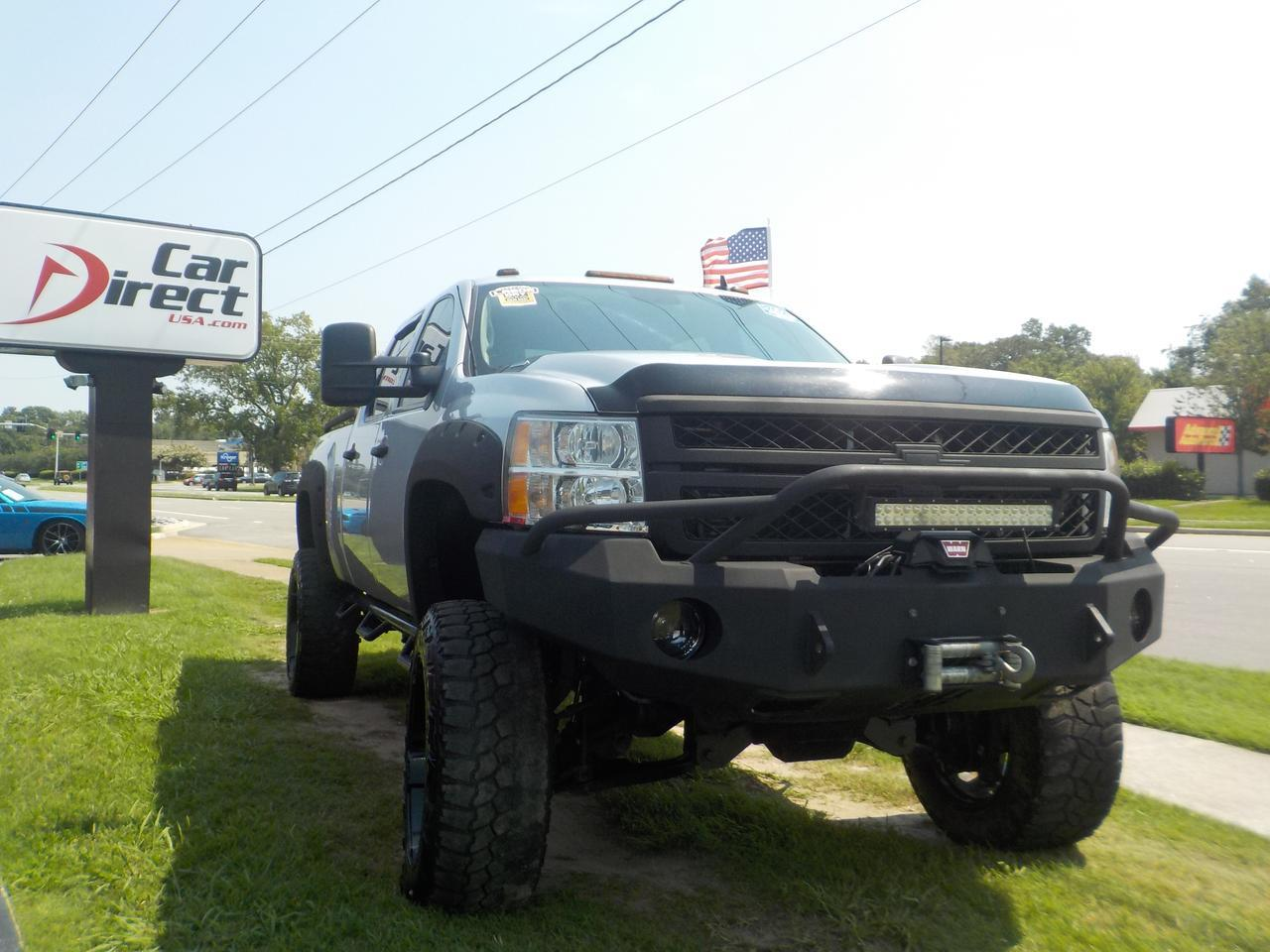 2013 CHEVROLET SILVERADO 2500 HD LT 4X4 6.6L DURAMAX DIESEL, LEATHER, LIFTED, WINCH, ALLISON TRANSMISSION, INSANE TRUCK!!! Virginia Beach VA