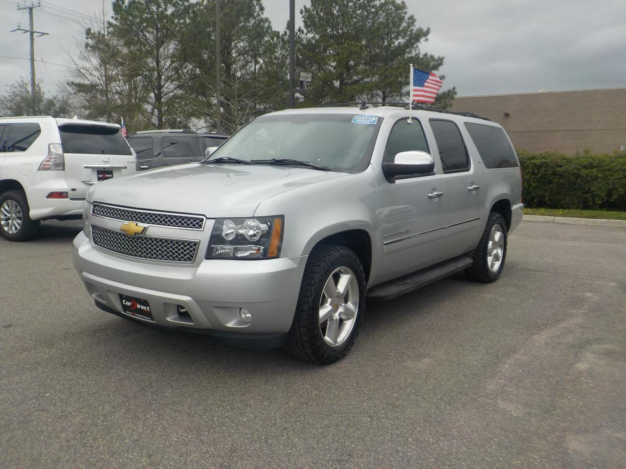 2013 CHEVROLET SUBURBAN LTZ 4X4, LEATHER, DVD, NAVI, 3RD ROW SEAT, BOSE PREMIUM SOUND, TOW PKG, REMOTE START,  LOW MILES! Virginia Beach VA