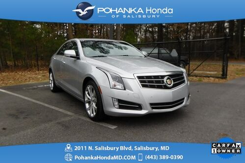 2013_Cadillac_ATS_2.0L Turbo Premium AWD ** NAVI & SUNROOF ** ONE OWNER **_ Salisbury MD