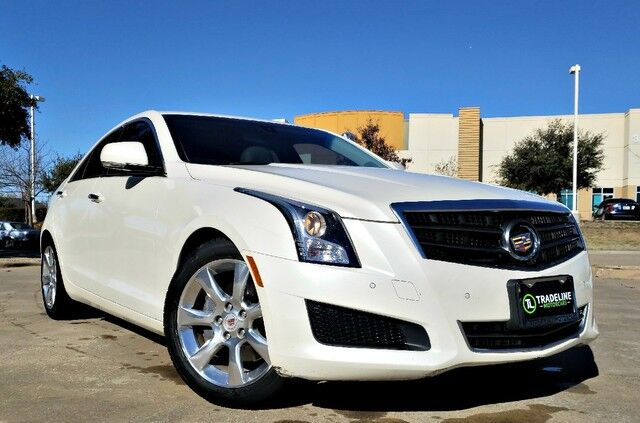 2013 Cadillac ATS Luxury HEATED SEATS, LEATHER, SUNROOF, AND MUCH MORE!!! CARROLLTON TX