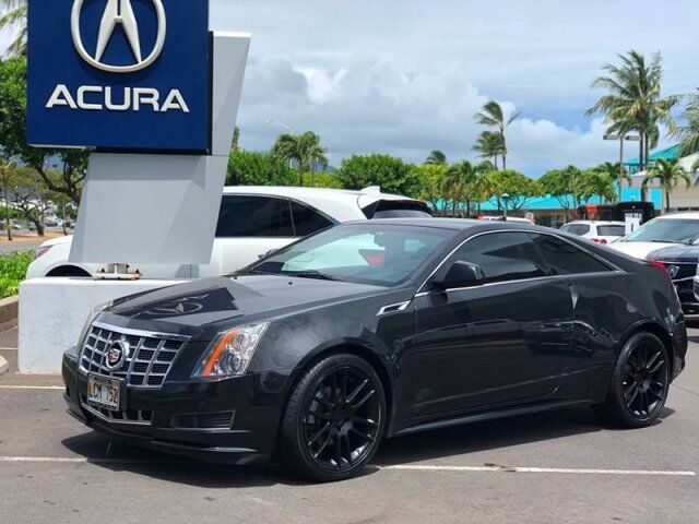 2013 Cadillac CTS Coupe 3.6L AWD 2dr Coupe Kahului HI