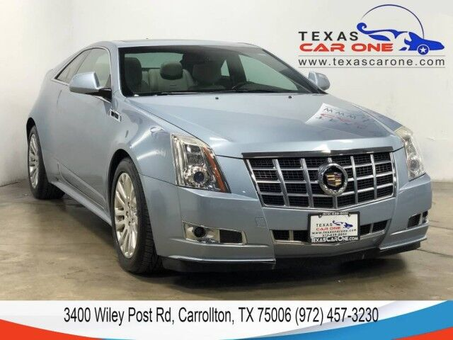 2013 Cadillac CTS Coupe 3.6L PERFORMANCE AWD BLIND SPOT ASSIST SUNROOF LEATHER KEYELSS START BOSE SOUND Carrollton TX