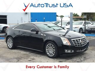 Cadillac CTS Coupe 3.6L PERFORMANCE LEATHER BACKUP CAM LOW MILES BLUETOOTH 2013