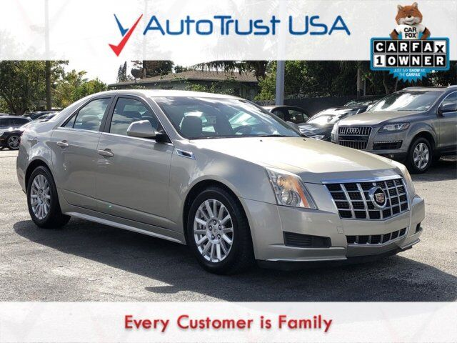 2013 Cadillac CTS Sedan Luxury Miami FL