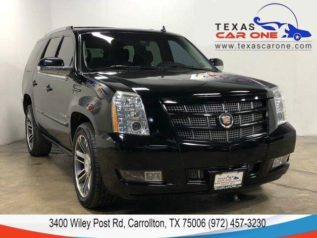 2013 Cadillac Escalade AWD PREMIUM BLIND SPOT ASSIST NAVIGATION SUNROOF LEATHER REAR CA Carrollton TX