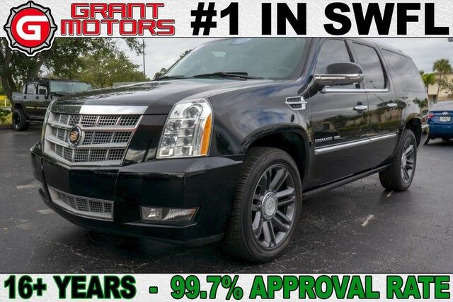 2013 Cadillac Escalade ESV Platinum Edition Fort Myers FL