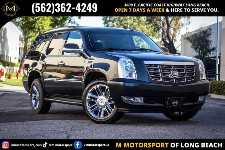 2013 Cadillac Escalade Sport Utility 4D Long Beach CA