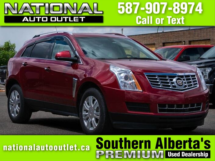 2013 Cadillac SRX Luxury - AWD - CLEAN CAR FAX -HEATED HEATER AND WHEEL Lethbridge AB