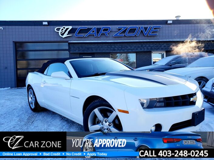 2013 Chevrolet Camaro 2LT PACKAGE CONVERTIBLE Calgary AB