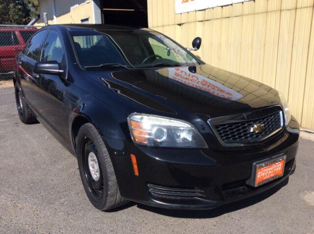 2013 Chevrolet Caprice Police Spokane WA