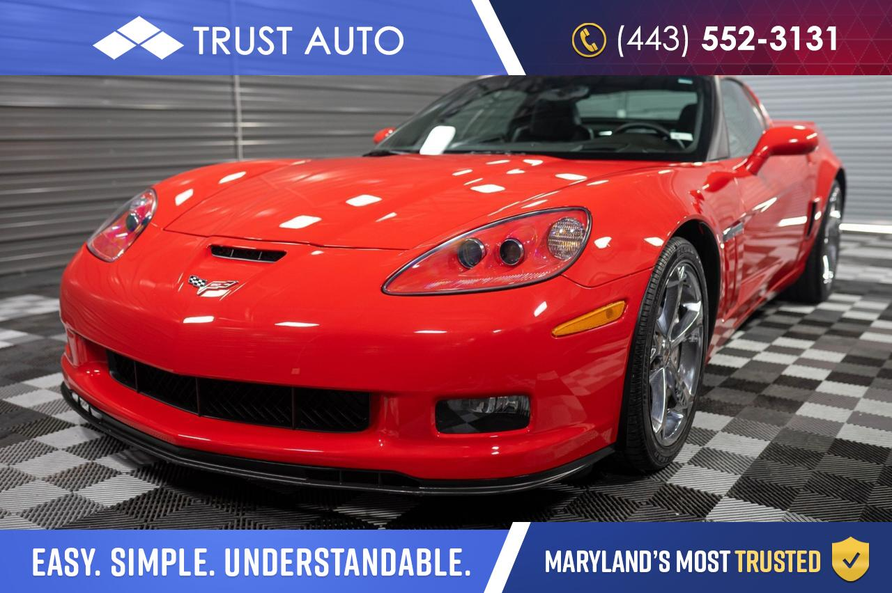 2013 Chevrolet Corvette Grand Sport 3LT 2-door Coupe w/Exhaust Dual Mode Performance Sykesville MD