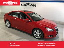 2013_Chevrolet_Cruze_2LT RS/Leather/Sunroof/Winter tires_ Winnipeg MB