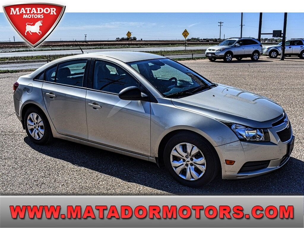 2013 Chevrolet Cruze 4DR SDN AUTO LS Wolfforth TX