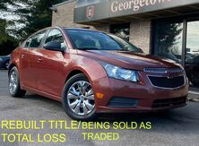 2013_Chevrolet_Cruze_LS REBUILT TITLE SOLD AS IS_ Georgetown KY