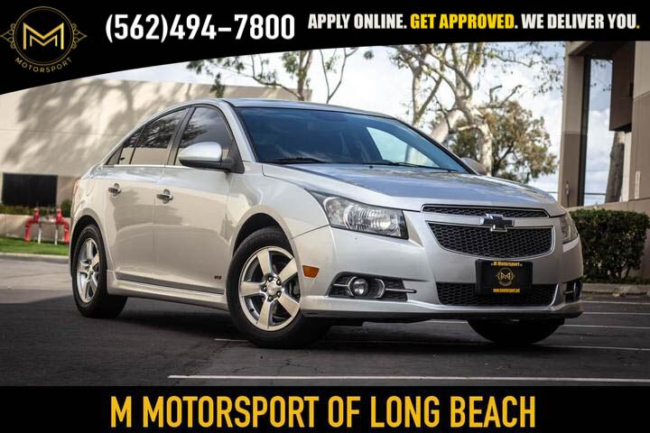 2013_Chevrolet_Cruze_LT Sedan 4D_ Long Beach CA