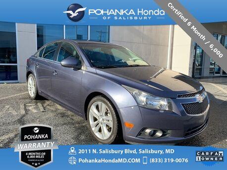 2013_Chevrolet_Cruze_LTZ ** Certified 6 Month / 6,000 **_ Salisbury MD