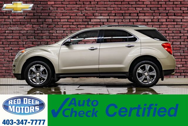 2013 Chevrolet Equinox AWD LTZ Leather Roof BCam Red Deer AB