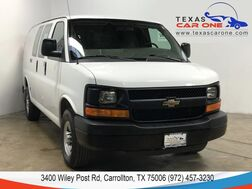 2013_Chevrolet_Express_2500 CARGO VAN AUTOMATIC TIRE PRESSURE MONITORING SYSTEM CLIMATE_ Carrollton TX