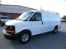 2013_Chevrolet_Express 2500 Cargo Van w/ Ladder Rack & Bins__ Ashland VA