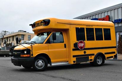 2013_Chevrolet_Express G3500_Starcraft School Bus_ Boston MA