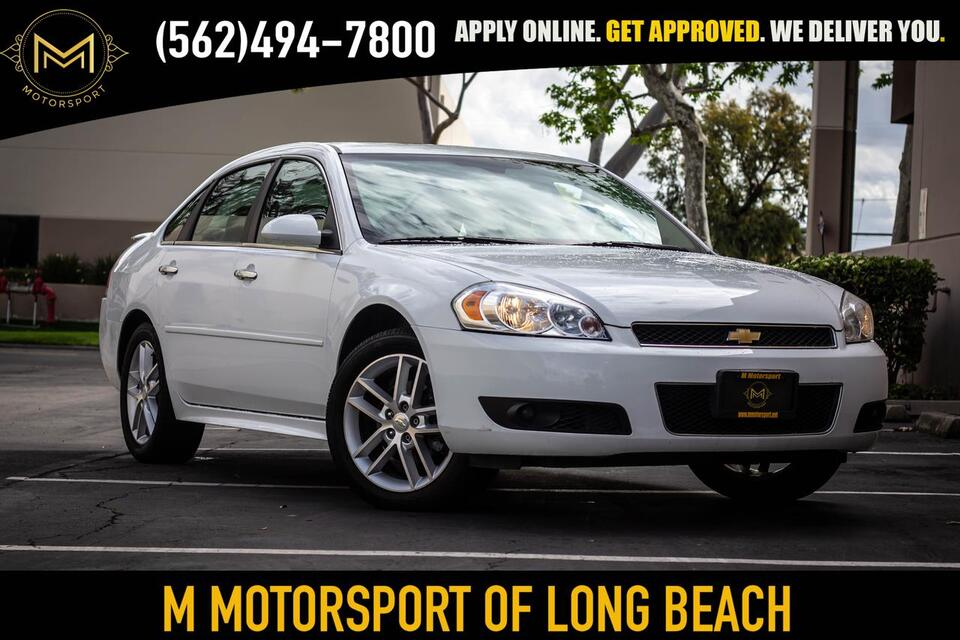 2013_Chevrolet_Impala_LTZ Sedan 4D_ Long Beach CA