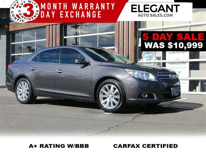 2013 Chevrolet Malibu LTZ - LOADED LEATHER ALLOYS