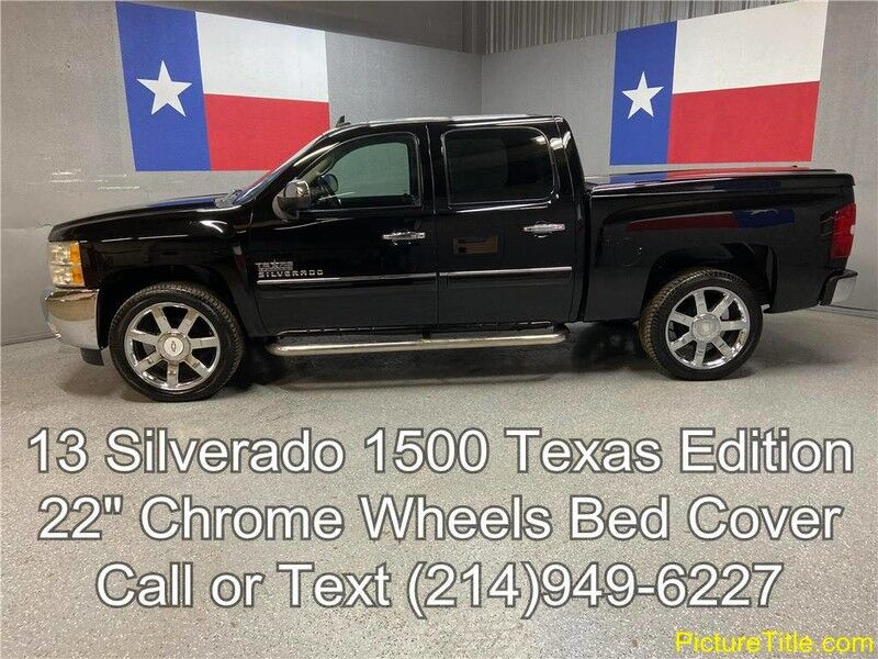 2013 Chevrolet Silverado 1500 2013 LT 2WD Texas Edition 22 Wheels Tonneau Cover 5.3L V8 Arlington TX