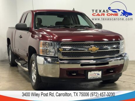 2013 Chevrolet Silverado 1500 LT EXT CAB 4WD AUTOMATIC CRUISE CONTROL ALLOY TOW HITCH BED LINER Carrollton TX
