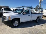 2013 Chevrolet Silverado 1500 Reg Cab w/ Ladder Rack Work Truck