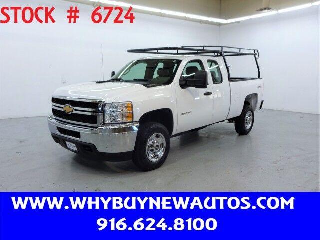 2013 Chevrolet Silverado 2500HD ~ 4x4 ~ Extended Cab ~ Only 63K Miles! Rocklin CA