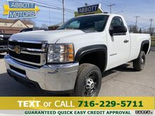 2013_Chevrolet_Silverado 2500HD_4WD Regular Cab Bedliner Warranty_ Buffalo NY