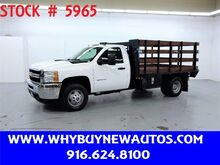 2013_Chevrolet_Silverado 3500HD_~ Diesel ~ 11ft Stake Bed ~ Only 60K Miles!_ Rocklin CA