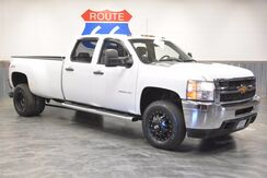 2013_Chevrolet_Silverado 3500HD_1 OWNER! DIESEL 4WD!! LEATHER LOADED! 'TONS OF EXTRAS! BLACKED OUT WHEELS! ONLY 66K MILES!!!!_ Norman OK