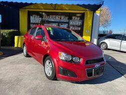 2013_Chevrolet_Sonic_4d Sedan LT AT_ Albuquerque NM