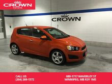 2013_Chevrolet_Sonic_HB LT Auto / One Owner / Local / Low Kms / Great Condition_ Winnipeg MB