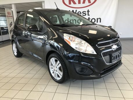 2013_Chevrolet_Spark_LS Air conditioning and Alloy wheels_ Edmonton AB
