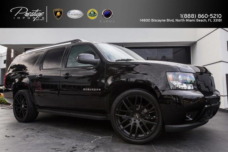 2013_Chevrolet_Suburban CEO JET Edition Mobile Office_LT_ North Miami Beach FL