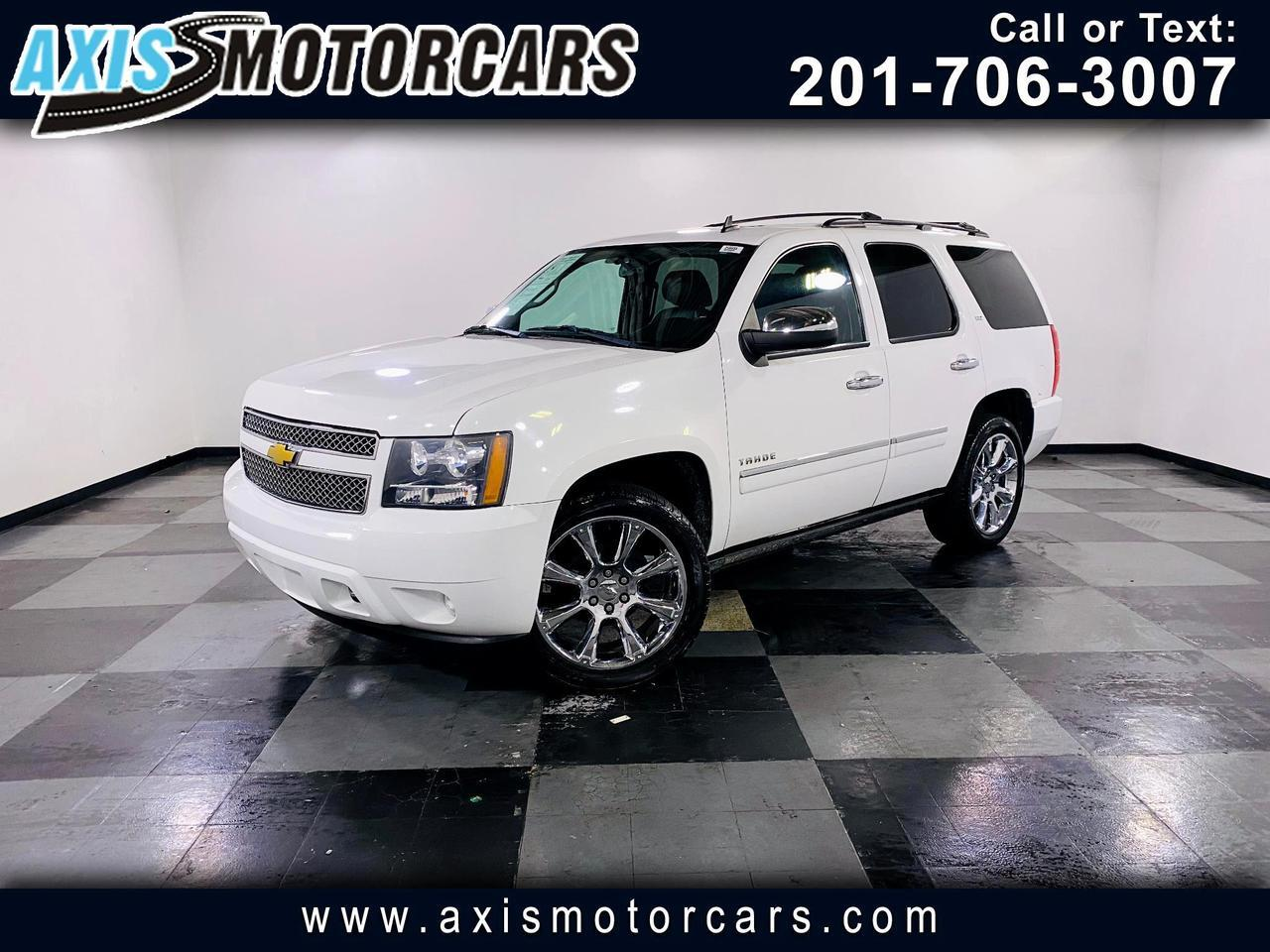 2013 Chevrolet Tahoe 4WD 4dr 1500 LTZ w/Rear Entertainment Backup Camer Jersey City NJ