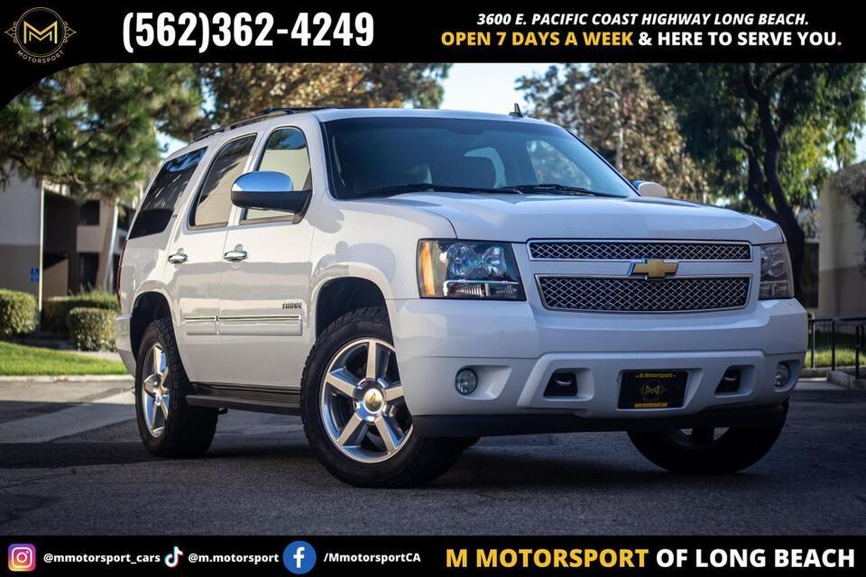 2013_Chevrolet_Tahoe_LTZ Sport Utility 4D_ Long Beach CA