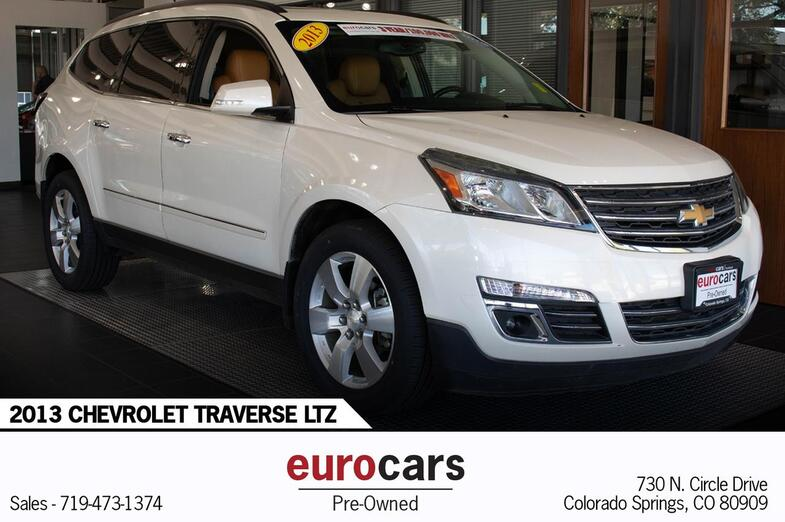 2013 Chevrolet Traverse LTZ Colorado Springs CO