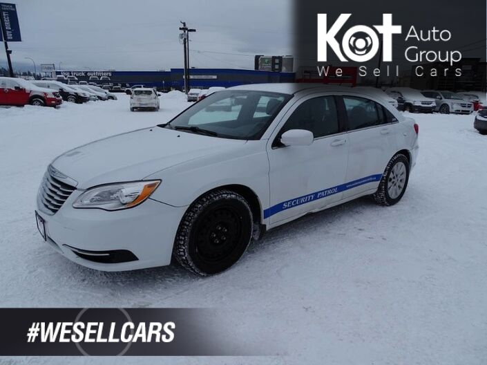 2013 Chrysler 200 LX, No Accidents! Vehicle Regularly Serviced Kelowna BC