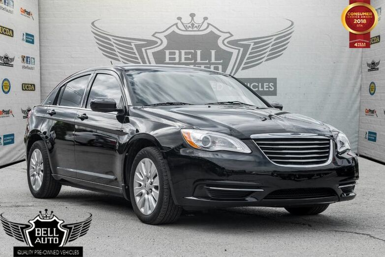 2013 Chrysler 200 LX POWER LOCKS TRACTION CONTROL ALLOY WHEELS Toronto ON