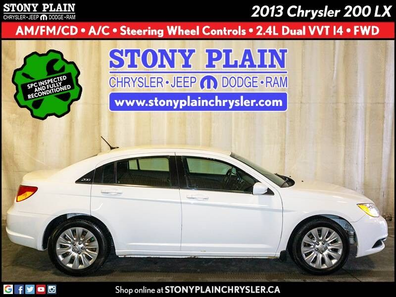 2013 Chrysler 200 LX Stony Plain AB