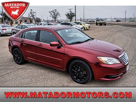 2013_Chrysler_200_LX_ Wolfforth TX