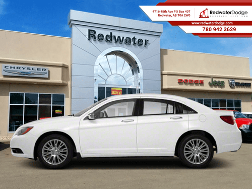 2013_Chrysler_200_Limited  - Leather Seats -  Bluetooth - $97.71 B/W_ Redwater AB