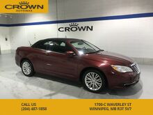 2013_Chrysler_200_Touring Convertible! *Remote Start** Power Roof** Accident Free** Great History**_ Winnipeg MB