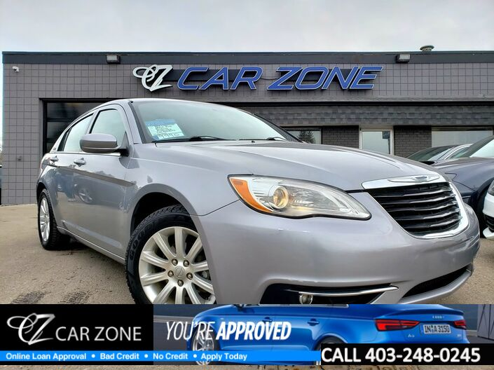 2013 Chrysler 200 Touring, LOW PAYMENTS Calgary AB