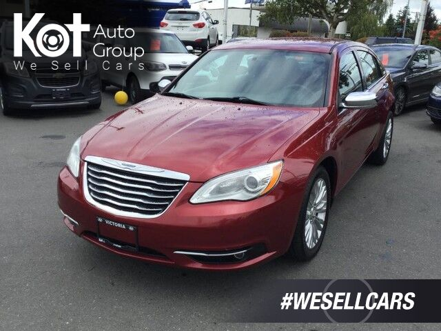 2013 Chrysler 200 Touring w/Navigation Victoria BC