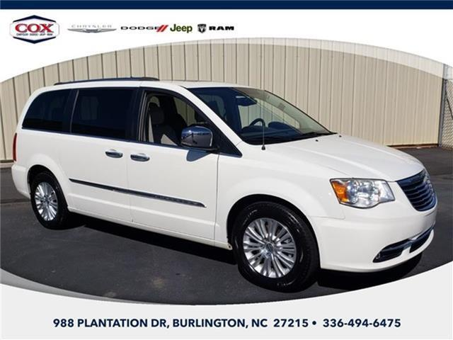 2013 Chrysler Town and Country Limited Front-wheel Drive LWB Passenger Van Burlington NC